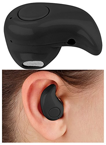 Callstel Bluetooth Ohrhörer: Winziges Akku-In-Ear-Headset mit One-Touch-Bedienung, Bluetooth 4.0 (Headset kabellos)