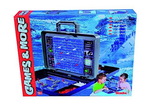 Versenken (Simba 6100335 - Games & More Schiffe versenken)