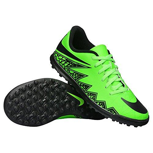 Nike Fußballschuhe JR Hypervenom Phade II TF Unisex Green Black