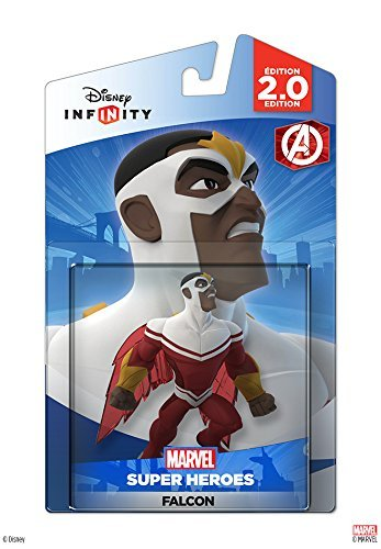Disney Infinity: Marvel Super Heroes (2.0 Edition) Falcon Figure - Not Machine Specific by Disney Infinity (Falcon Disney Infinity)