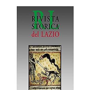 Rivista Storica del Lazio n. 16/2002: Rivista semestrale di storia medievale moderna e contemporanea