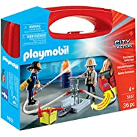 Playmobil City Action Advent Calendar Construction Site Fire Rescue