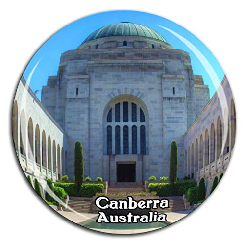 Weekino Australian War Memorial Canberra Australien Kühlschrankmagnet 3D Kristallglas Tourist City Travel Souvenir Collection Geschenk Stark Kühlschrank Aufkleber