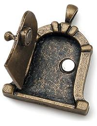 Darice - Fairy Door Metal Charm 1/Pkg