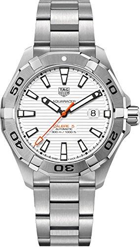 TAG Heuer Men's Steel Bracelet & Case Automatic Analog Watch WAY2013.BA0927
