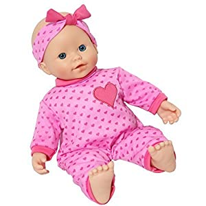 The New York Doll Collection- The New York Muñeca Collection B123 35,56 cm Suave Cuerpo caucásico bebé, Color (43291-22670)