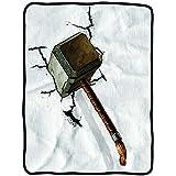Decke–Marvel–Avengers Thor Hammer Crush Fleece New cfb-aum2-thrcrsh von Avengers