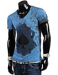Tazzio t-shirt pour homme polo chemise à manches courtes coupe slim pour femme style japonais nouvelle étiquette