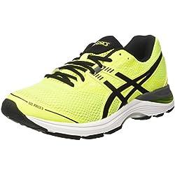 Asics Gel-Pulse 9, Scarpe da Running Uomo, Giallo (Safety Yellow/Black/Carbon), 43.5 EU