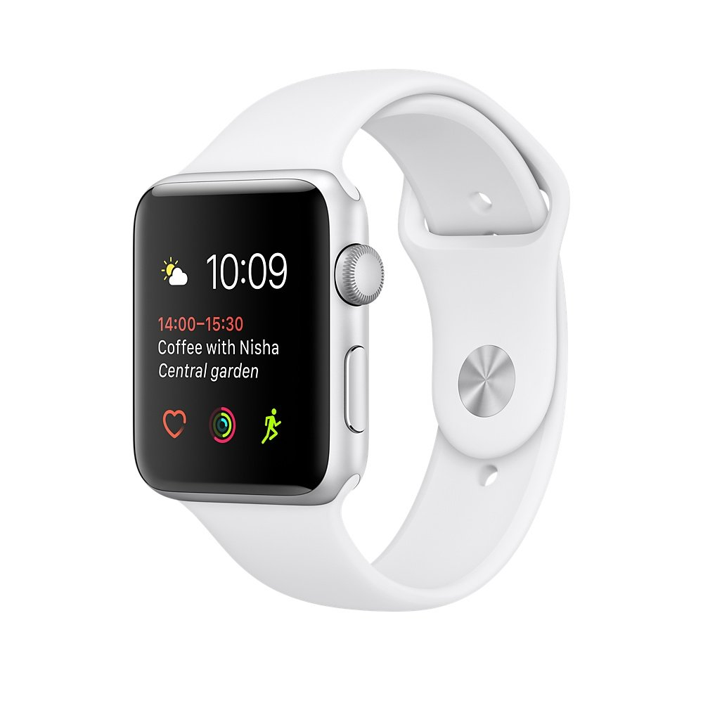 Apple 38 mm series 1 smart watch with concrete sport amazon co uk electronics