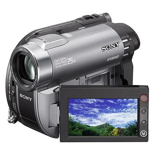 Sony DCR-DVD310 Camcorder (DVD und Flash, 25-fach opt. Zoom, 6,9 cm (2,7 Zoll) Display, Bildstabilisator) Sony Dvd Videokamera