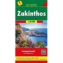 Zakinthos, Autokarte 1:50.000 (freytag & berndt Auto + Freizeitkarten)