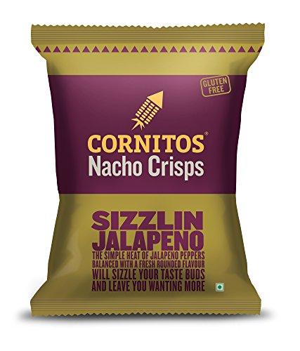 Cornitos Nachos Crisps, Sizzlin Jalapeno, 150g