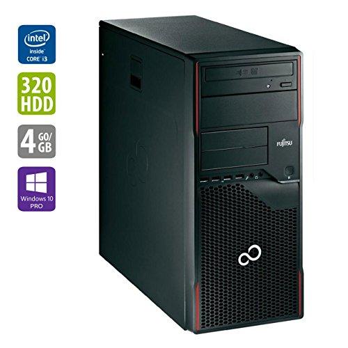 Refurbished Office PC | Fujitsu P900 | Intel Core i5-2400 @ 3,1 GHz | 4GB DDR3 RAM | 320GB HDD | DVD-ROM | Windows 10 Home vorinstalliert (Zertifiziert und Generalüberholt)