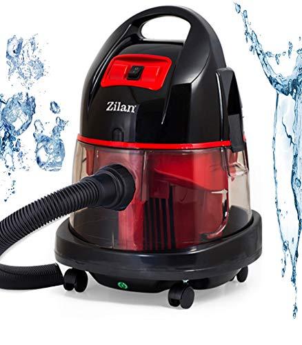 Staubsauger mit Wasserfilter | Beutellos | Wasserstaubsauger | Bodensauger | Wassersauger | Trockensauger | Nass und Trocken Boden Staubsauger | 2.000 Watt |