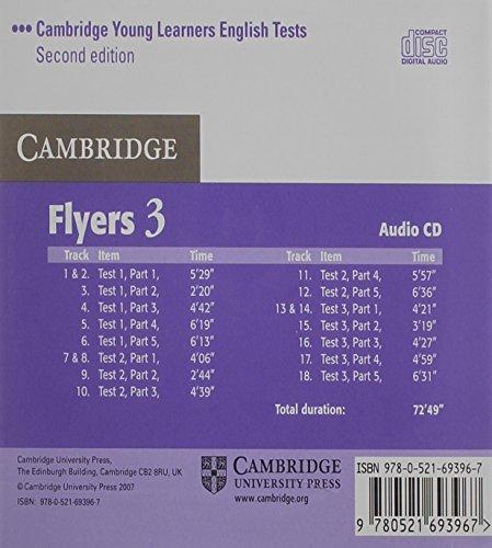 Libro Cambridge Young Learners English Tests Flyers 3 Audio