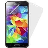 Caseit CSS5P2CLI Film de Protection Anti Rayures pour Samsung Galaxy S5 (Lot Double) - Transparent