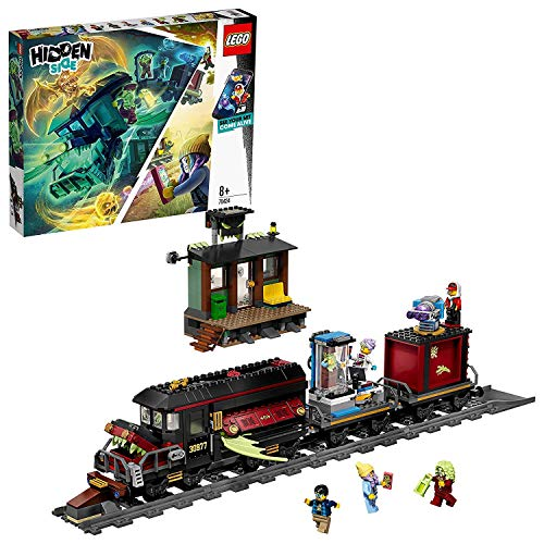 LEGO 70424 Hidden Side Geister-Expresszug Kinderspielzeug, Augmented Reality Funktionen