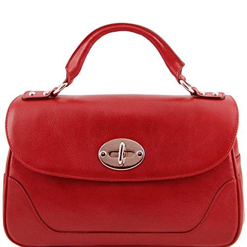 Tuscany Leather - TL NeoClassic - Bauletto piccolo in pelle Rosso - TL141227/4 Rosso