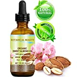 A classic, mild, semi-fatty oil which has been used for centuries. It spreads nicely, makes the skin soft, smooth and supple. Organic Almond Oil is one of the best natural skin moisturizers because of its lightness-it moisturizes dry skin without lea...