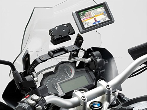 Preisvergleich Produktbild SW MOTECH QUICK-LOCK GPS-Halter schwarz Vibrationsgedämpft