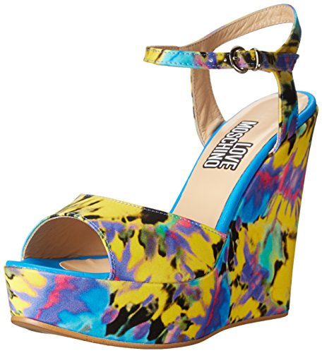 Love Moschino Ja1612ce0kjd Donna US 9 Multicolore Sandalo EU 39