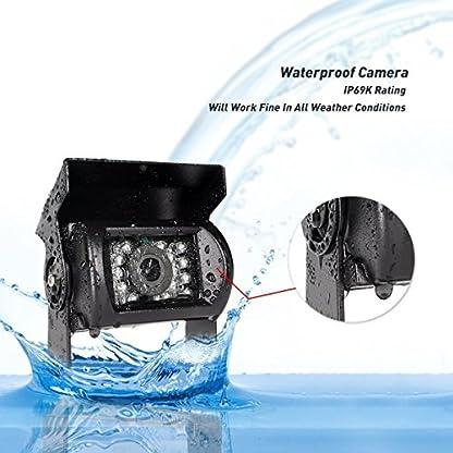 Drahtlose-Rckfahrkamera-Fahrzeug-2-x-Parksystem-18-IR-LED-Nachtsicht-Wasserdichte-Fahrzeug-Rckfahrkameras-7-TFT-LCD-HD-800-x-480-Farbmonitor-fr-Wohnmobil-Anhngerbus