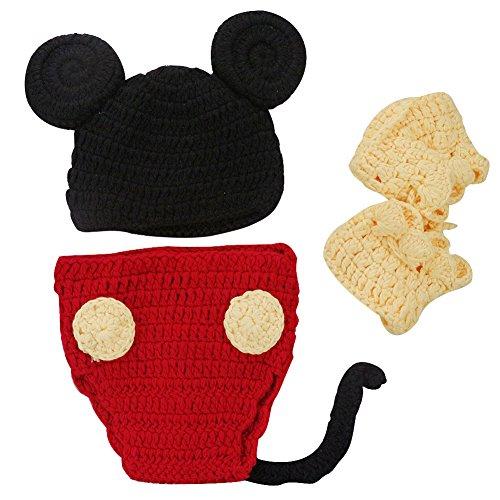 Imagen de m&a ropa disfraz fotografía para bebé 0 3 meses mickey alternativa