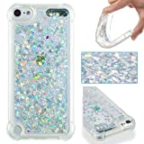 pinlu Coque pour Apple iPod Touch 5 / Touch 6 Silicone TPU Souple Scintillant Luxe...