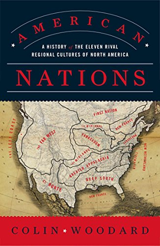 American Nations por Colin Woodard