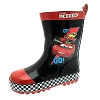 Disney Cars Boys Rubber Wellington Boots Wellies