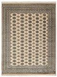 Nain Trading Pakistan Buchara 2ply 320x244 Orientteppich Teppich Grau/Dunkelbraun Handgeknüpft Pakistan
