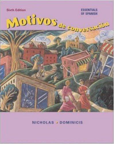 Motivos de conversación with Listening Comprehension CD and Student CD-ROM