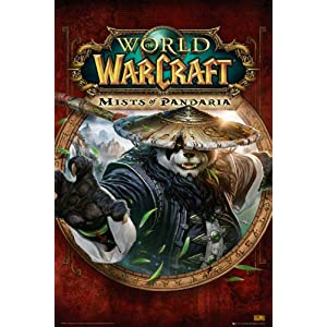 World of Warcraft – Mists of Pandaria Cover – Games Poster Wow – Grösse 61×91,5 cm + 2 St Posterleisten Kunststoff 62 cm…