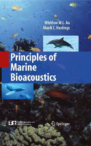 Adios Tristeza Libro Descargar Principles of Marine Bioacoustics (Modern Acoustics and Signal Processing) Paginas De De PDF