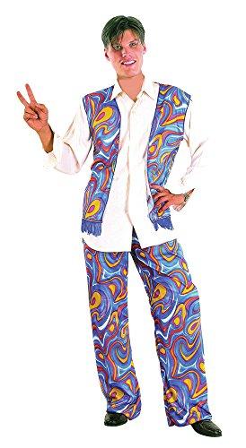 Bristol Novelty AC323Flower Power Kostüm Hippie Man, 42–Blumenkasten