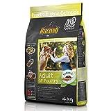 Belcando Adult GF Poultry [4 kg] getreidefreies Hundefutter | Trockenfutter ohne Getreide | Alleinfuttermittel für ausgewachsene Hunde ab 1 Jahr
