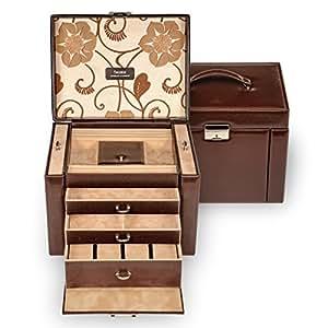 SACHER jewellery case Maxima / brown