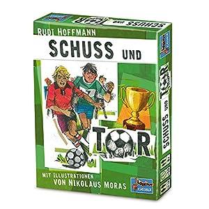 Lookout Games 22160011Schuss und Tor - Juego de Cartas (en alemán), Color Verde