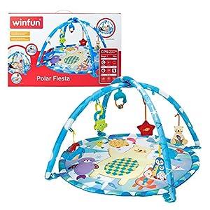 winfun- Alfombra de juegos para bebés (Colorbaby 44240)