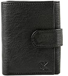 Styler King Men Black Artificial Leather Wallet��(4 Card Slots)