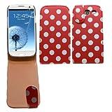 SAMRICK Premium Étui protecteur en cuir à rabat avec protection d'écran et chiffon...