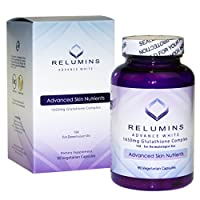 Relumins Advance White 1650MG 15X Glutathione Complex Skin Whitening Capsules 90 capsules