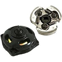 Generic–Disco della frizione + piccolo denti cambio cassetta–Tamburo della frizione per 2tempi 47cc 49cc Pocket Dirt Bike Mini ATV Quad kinderquad per Notebook