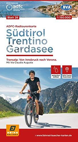 Verona Track (ADFC-Radtourenkarte 28 Südtirol, Trentino, Gardasee 1:150.000, reiß- und wetterfest, GPS-Tracks Download: Transalp: Von Innsbruck bis Verona. Mit Via ... - Venezia (ADFC-Radtourenkarte 1:150000))