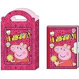 Diario en caja Peppa Pig