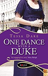 One Dance With a Duke: A Rouge Regency Romance by Tessa Dare (2012-02-16)