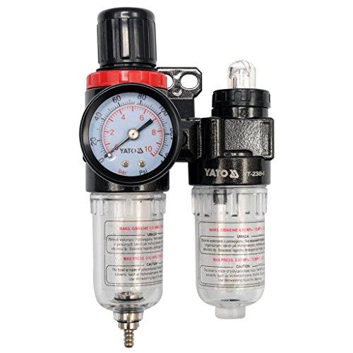 """Preisvergleich Produktbild 'YATO yt-2384-régulateur D 'Air mit mit und Filter 1/4""""(F) x 1/4(F) Flug 25cm3des Filter"""