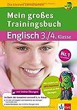 Klett Mein großes Trainingsbuch Englisch (Die kleinen Lerndrachen) Grundschule - Ursula Lassert