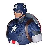 Captain America Spardose Marvel Superhelden Sammlerfigur B?te 19cm gro?Kunststoff by Semic